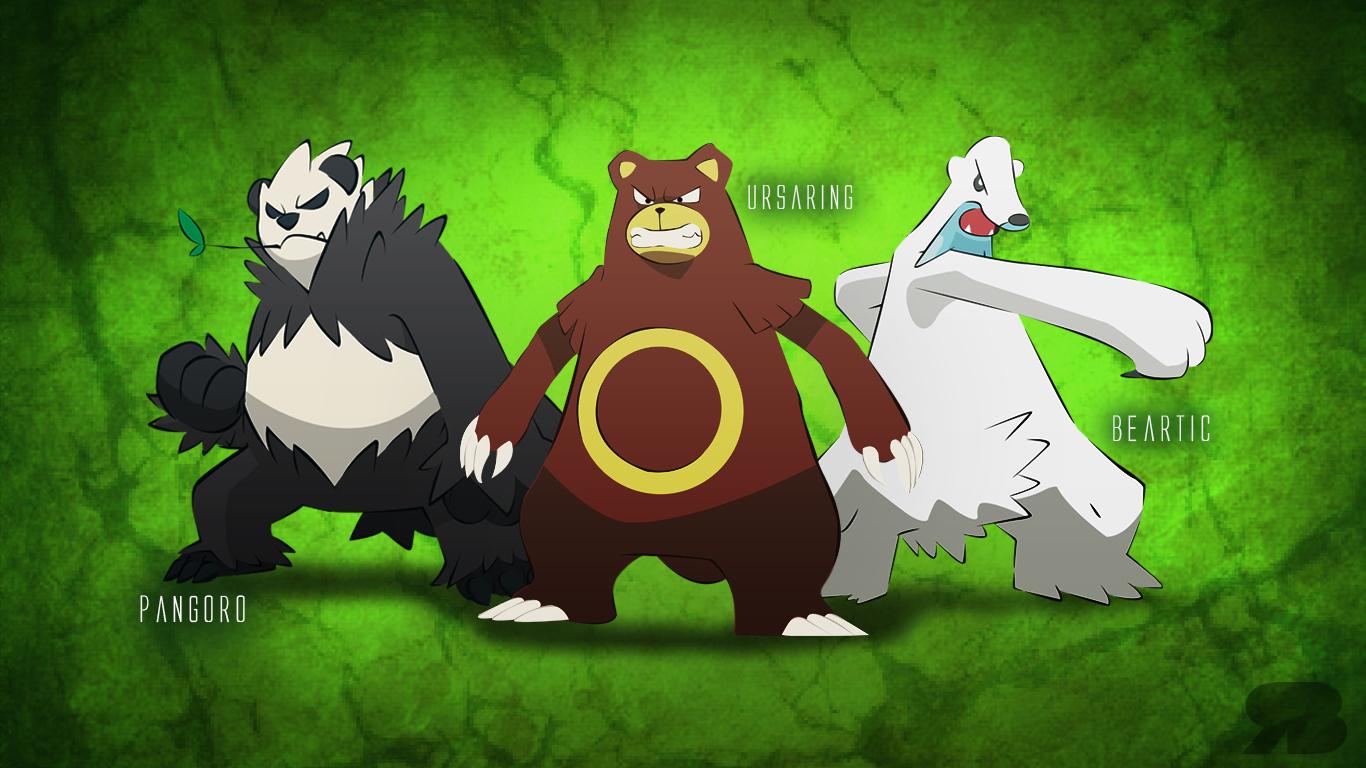 Pokemon Bears Desktop ...