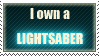 I own a lightsaber by Shantella