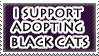 Adopt a black cat by Shantella