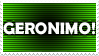Doctor Who: Geronimo Stamp by DarthTella