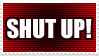 Doctor Who: Shut Up Stamp by Shantella
