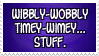 Doctor Who: Wibbly-wobbly timey-wimey... stamp by Shantella