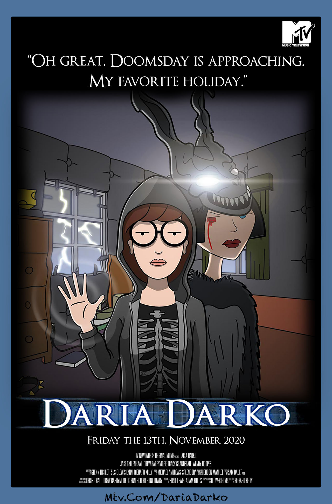 Movie Poster Daria Darko Grace Tauber gwt357