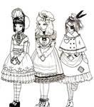 My Three Dolls