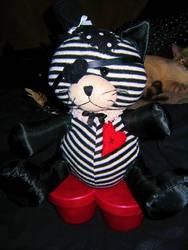 Gothic lolita Pirate Cat