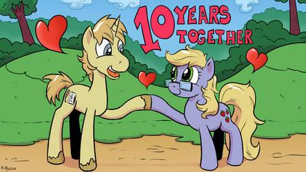 10 Years Together by SzafaLesiaka