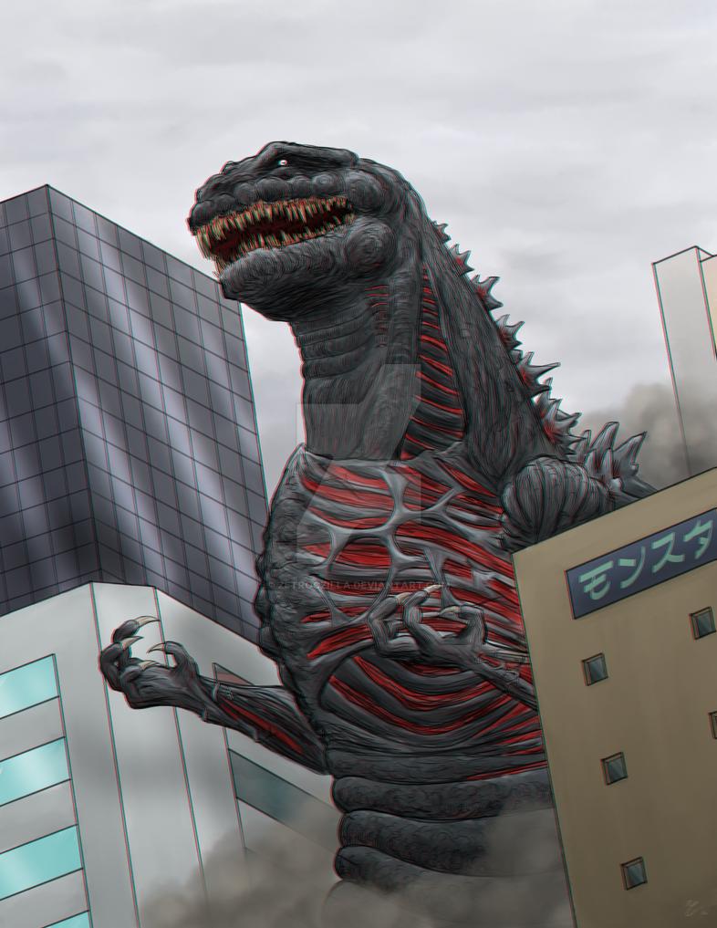 Shin-Godzilla by Zetroczilla