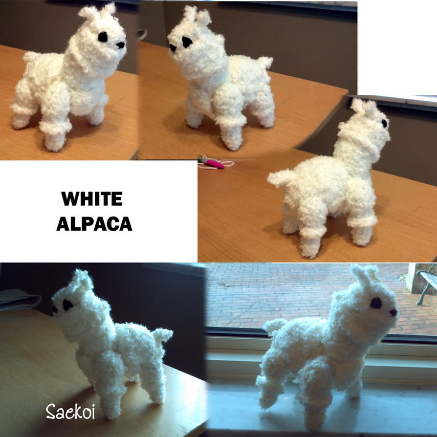 White Alpaca by Saekoi