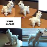 White Alpaca by Saekoi
