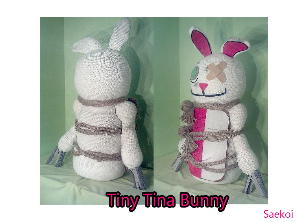 Tiny Amigurumi Rabbit : Amigurumi Tiny Tina Bunny by Saekoi on DeviantArt