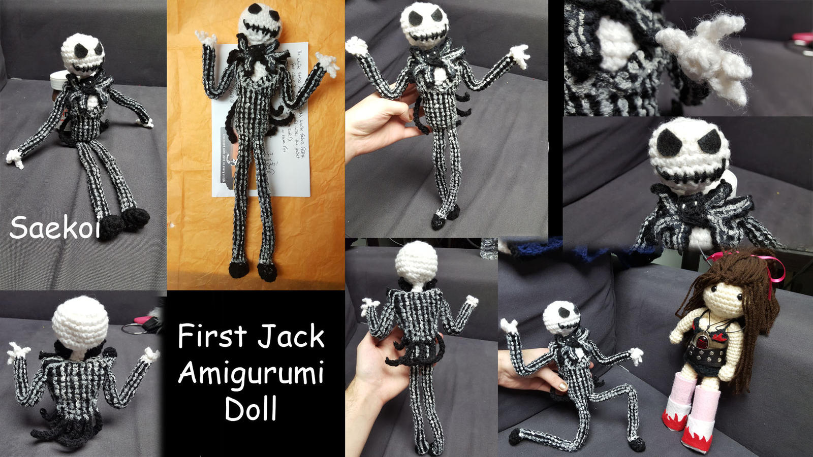 Jack Skellington Amigurumi by Saekoi on DeviantArt