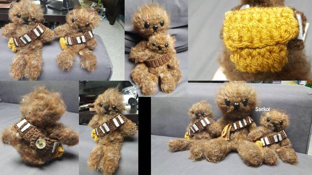 Mini Chewbacca Amigurumi