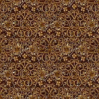 Gold Lacy Pattern SEAMLESS