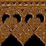 Gold Ribbon Pattern