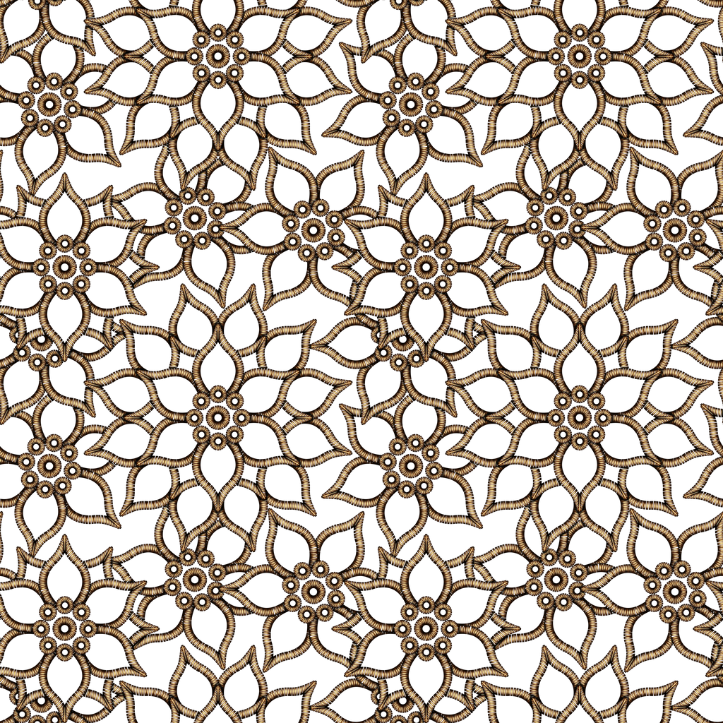Floral Pattern GOLD by Yagellonica on DeviantArt