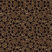 Floral Pattern GOLD