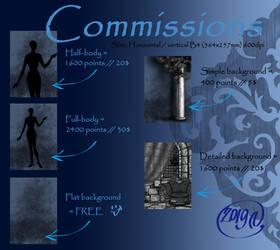 Commission INFO n Pics