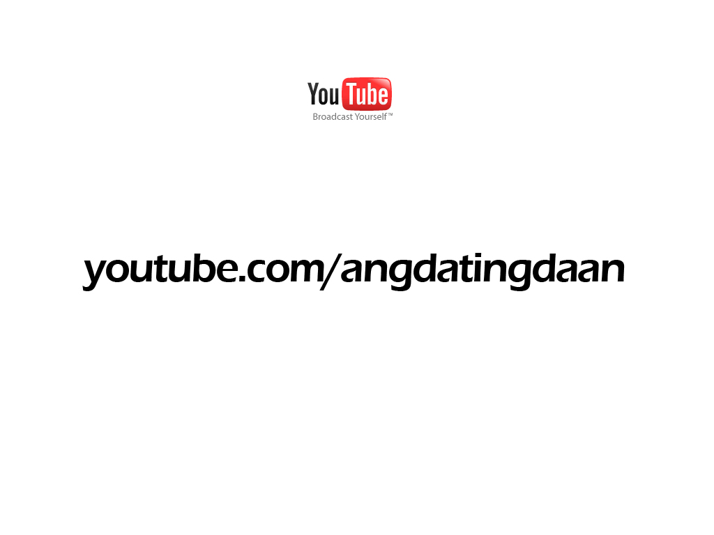 Ang Dating Daan at Youtube by angdatingdaan