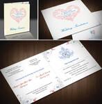 Friend's wedding invitation