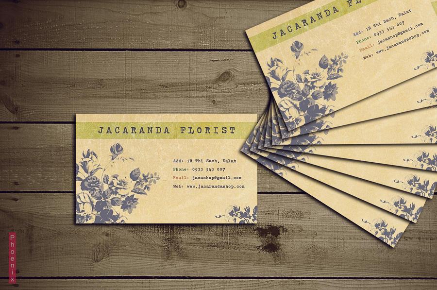 Florist business card by Phoenix2609 on DeviantArt