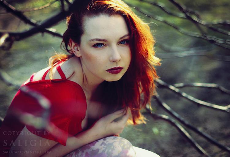 Redhead Alice by JuliaDunin