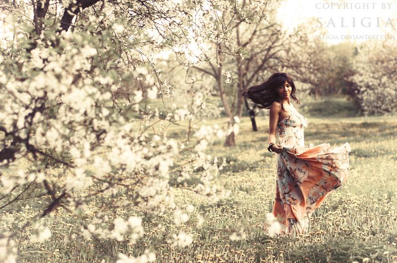 SpringDancer II by JuliaDunin