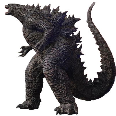 Godzilla 2019 PNG Transparent Background 5 by