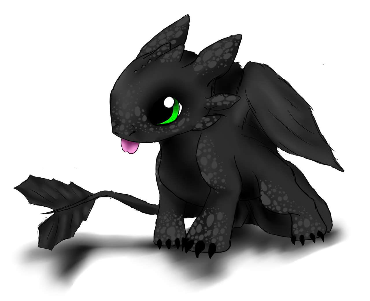 Baby toothless request by Thecopperbeast on DeviantArt