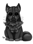 Darth Vadar Kitty by Thecopperbeast