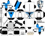 Clone Trooper Cubeecraft