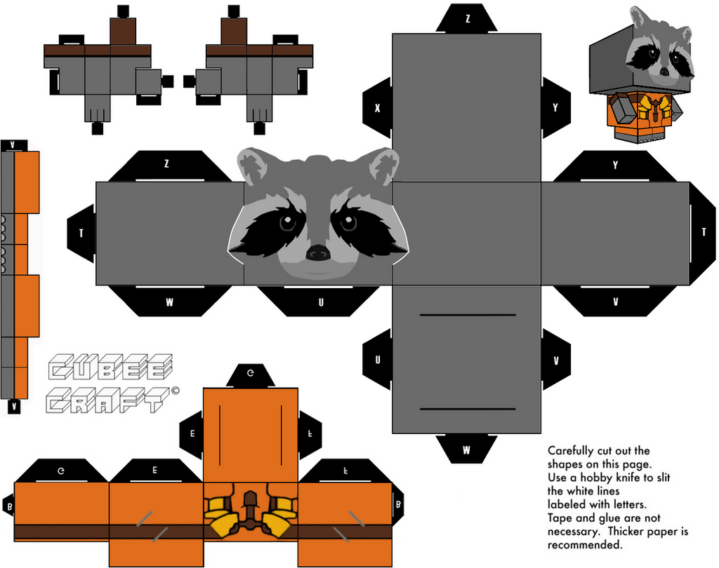 Rocket Cubeecraft By Jagamen On Deviantart