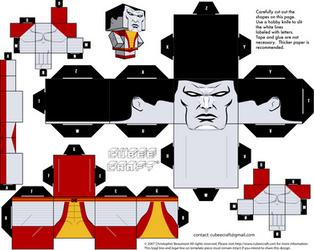 Colossus cubeecraft by JagaMen