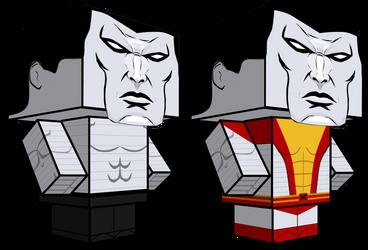 Colossus cubeecraft 3D-model by JagaMen