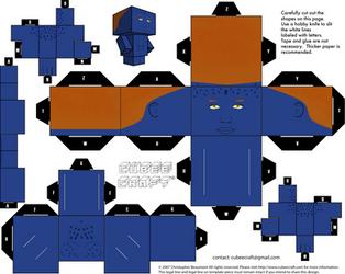 Mystique Cubeecraft by JagaMen