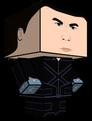 Bobby Iceman cubeecraft 3D-model by JagaMen