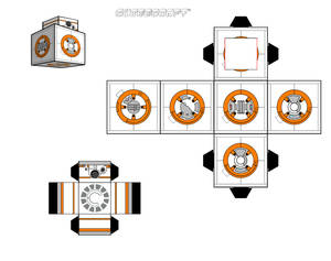 BB-8 cubeecraft