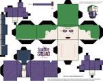 Joker Jared Leto Cubeecraft