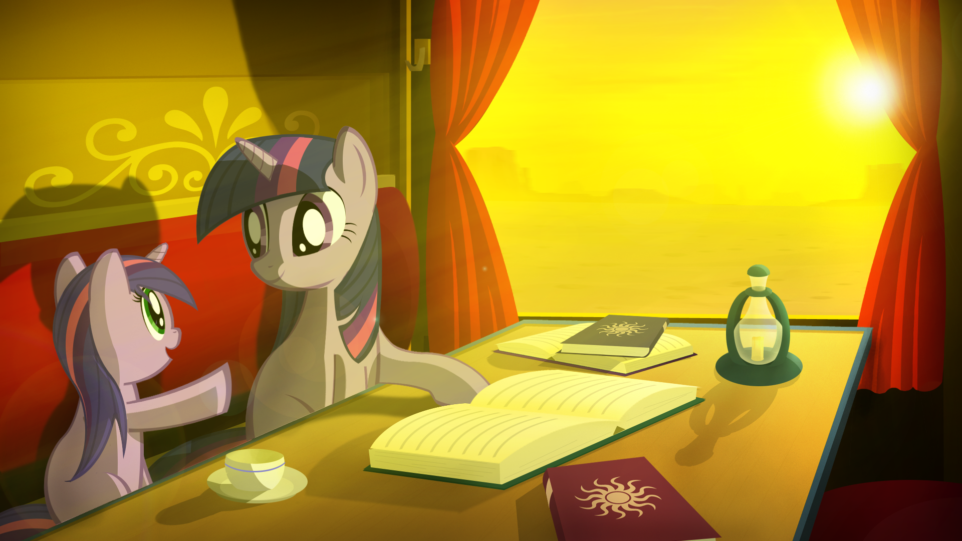 frame The Chronicles of Equestria I by gign-3208