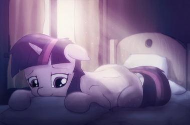 Twilight in bed