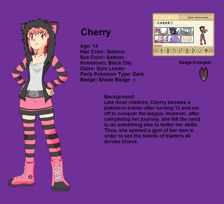 Pokemon OC-Cherry by Jarino