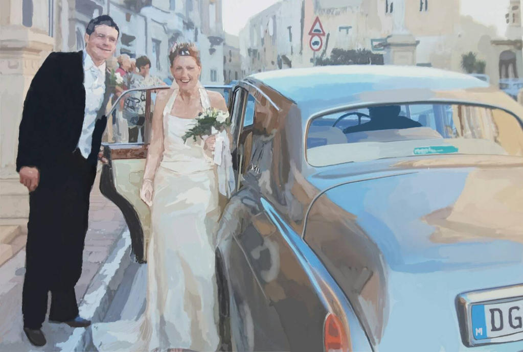 My wedding in Malta by DominicHardy