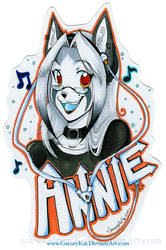 + Annie + Badge for Jesonite by GaruryKai
