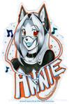 + Annie + Badge for Jesonite