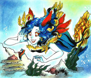 :Nudibranchia mermaid: