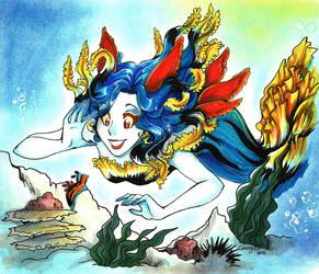 :Nudibranchia mermaid: