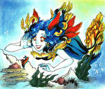 :Nudibranchia mermaid: by GaruryKai