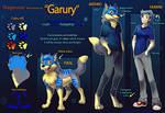 OC: Garury Reff sheet