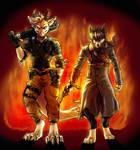 CM : Through the fire : by GaruryKai