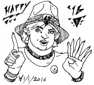 Happy 2016! by melallensink