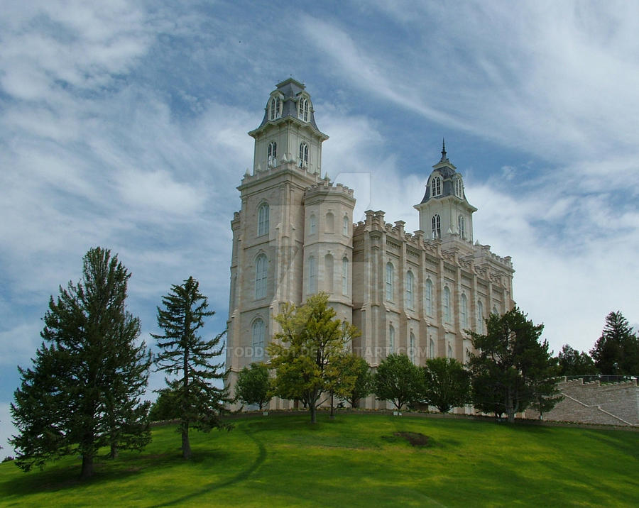 LDS Temple - Manti, Utah2 by todds201
